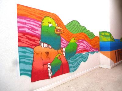 Fresque à la Cayolle